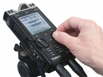 Roland R26 hand held recorder