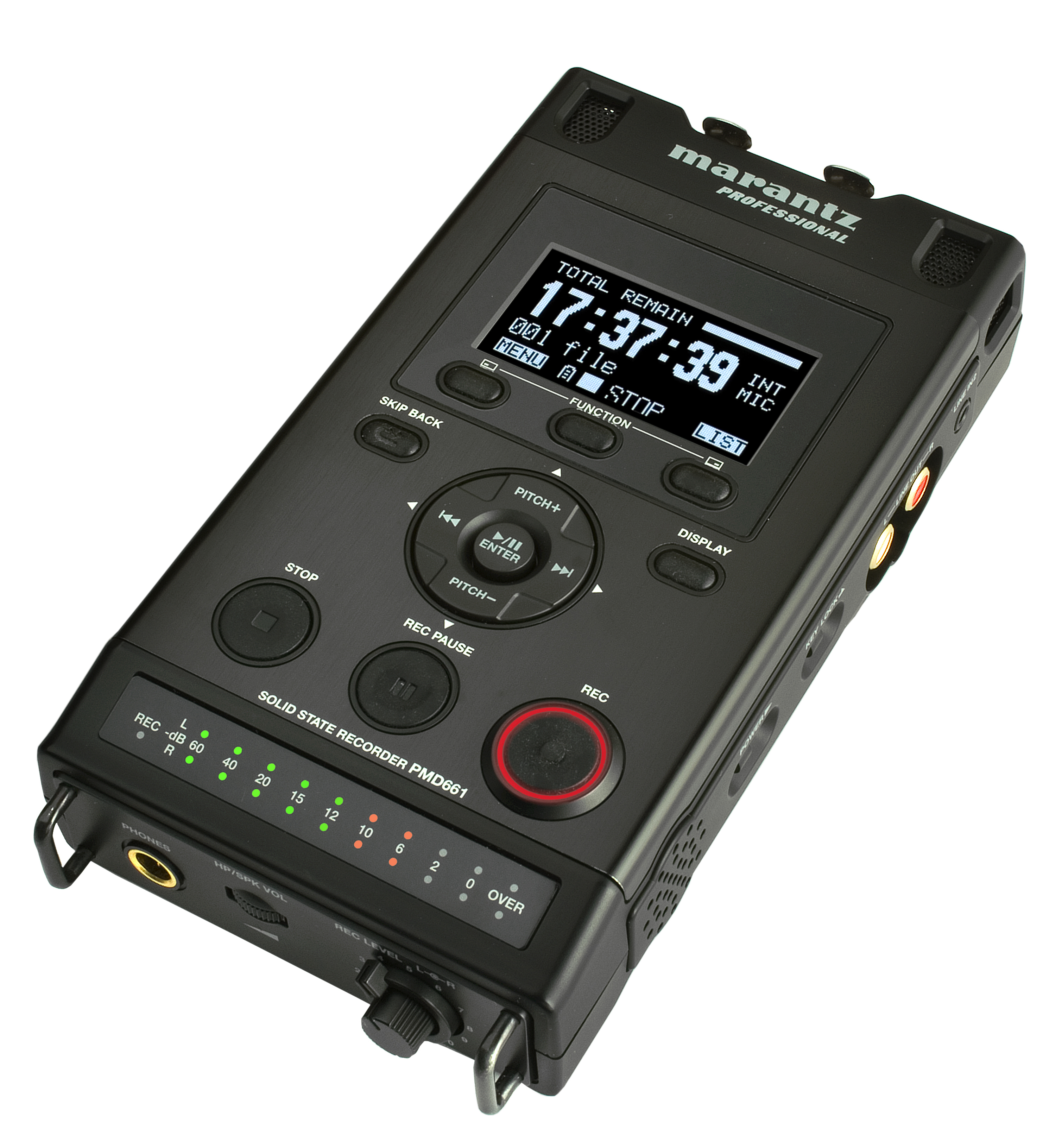 Marantz PMD-661 Compact Flash Recorder