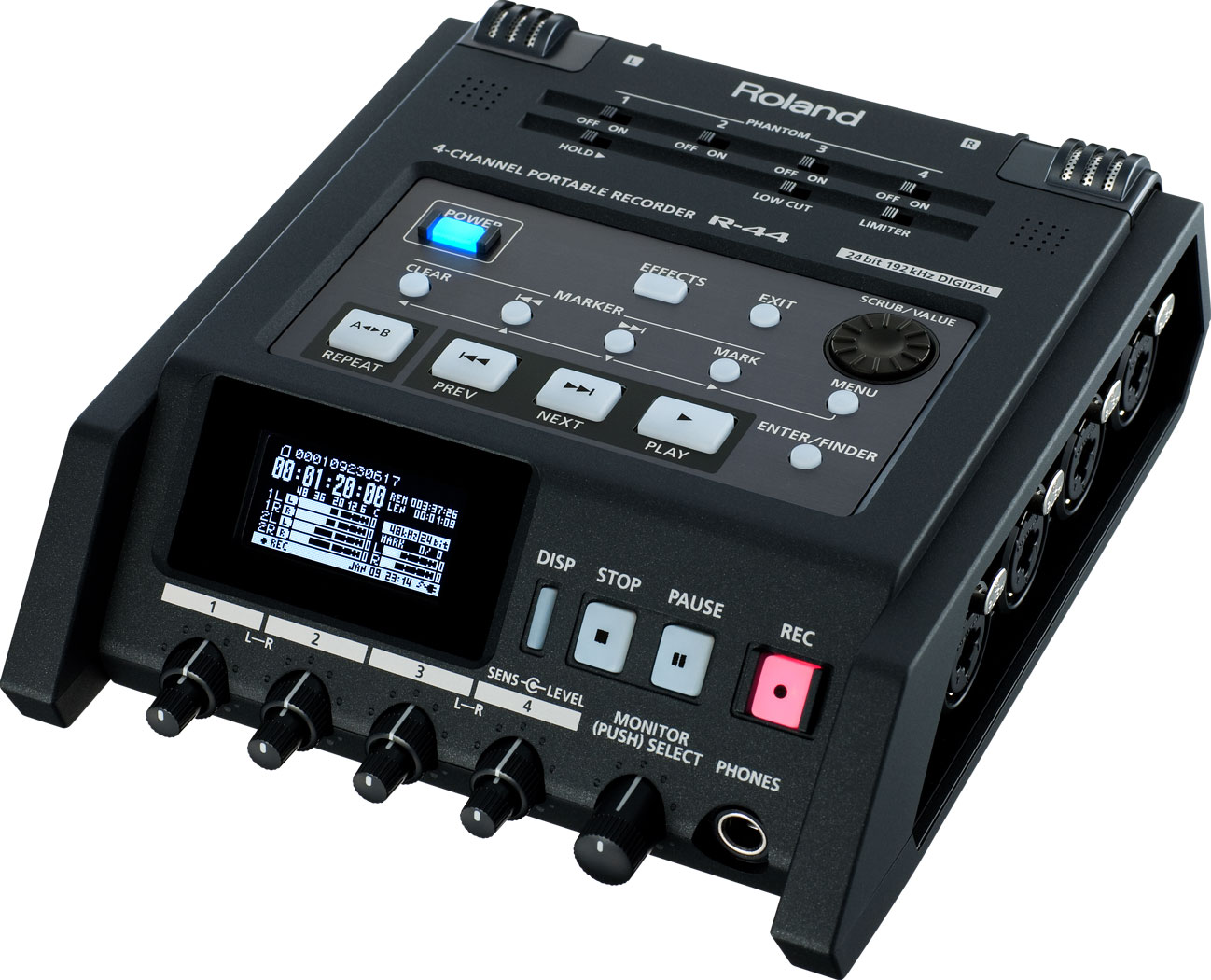 Roland R44e 4 Channel Recorder